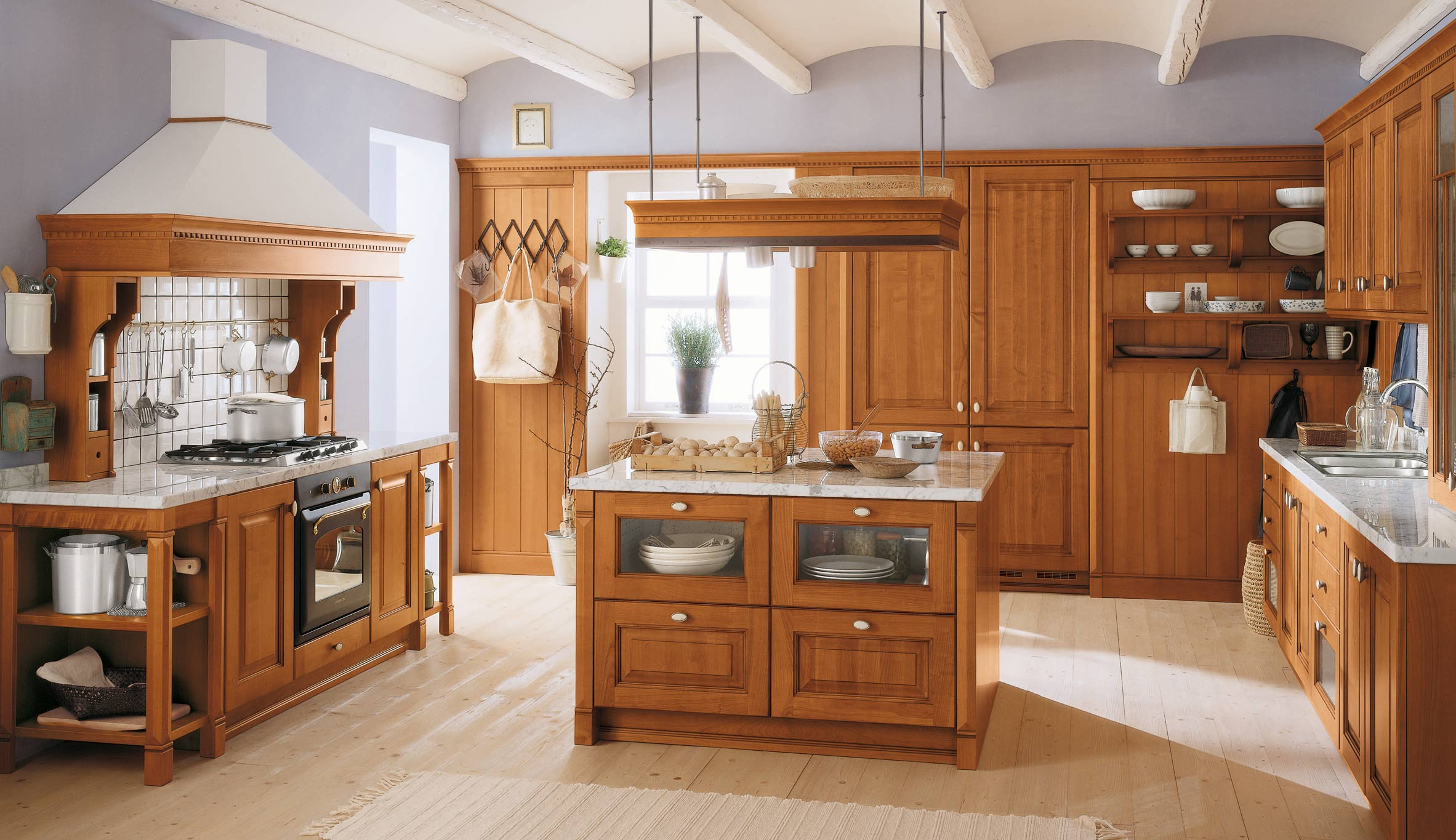 Interior designing with kitchen ply
