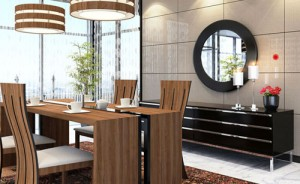 love for plywood - dining table