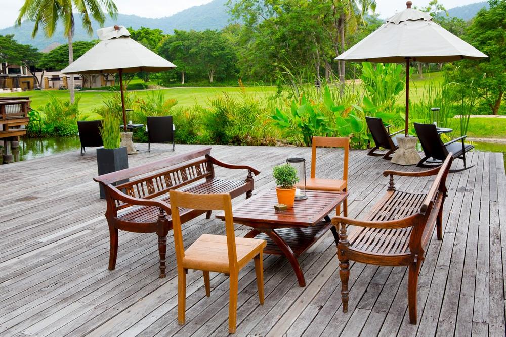 Plywood Garden Furniture